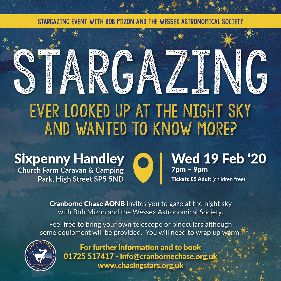 Sixpenny Handley Stargazing evening